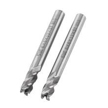 2pcs/Lot End Mill HSS 6mm 4 Flutes End Mill Metal Cuttting Engraving Milling Machine Bit CNC Tool цена 2017
