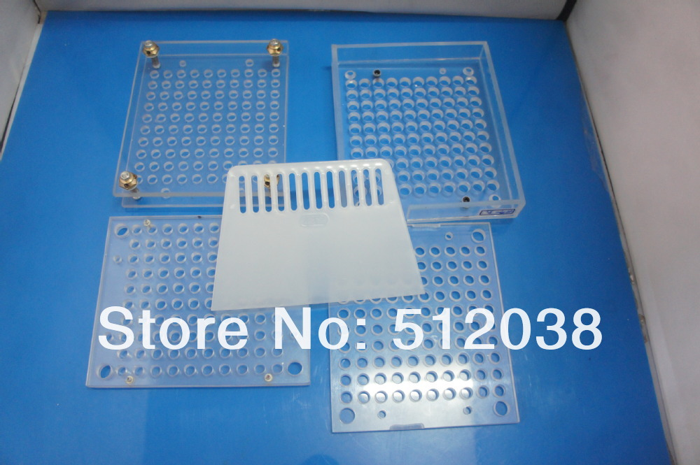 100 cavity manual filling machine, filler Without tamping tool,can customize for 000# 00# 0# 1# 2# 3# 4# 5# size