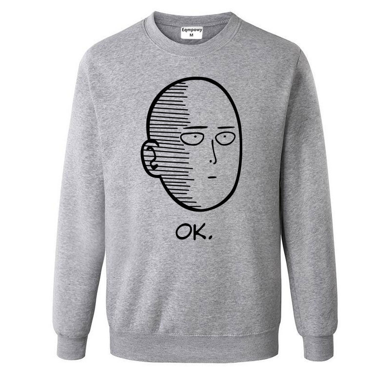 Eqmpowy One Punch Man Women Hoodies Jacket Sweatshirts
