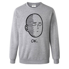 One Punch Man Men and Women Hoodies Anime ONE Oppai Hoodies ONE PUNCH-MAN re-make Fleece Jacket Harajuku Sweatshirts