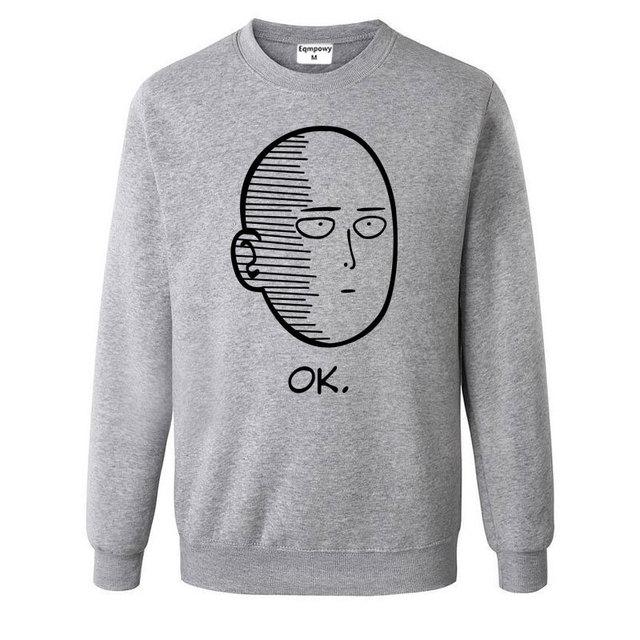 One Punch Man Men and Women Hoodies Anime ONE Oppai Hoodies ONE PUNCH-MAN re-make Fleece Jacket Harajuku Sweatshirts