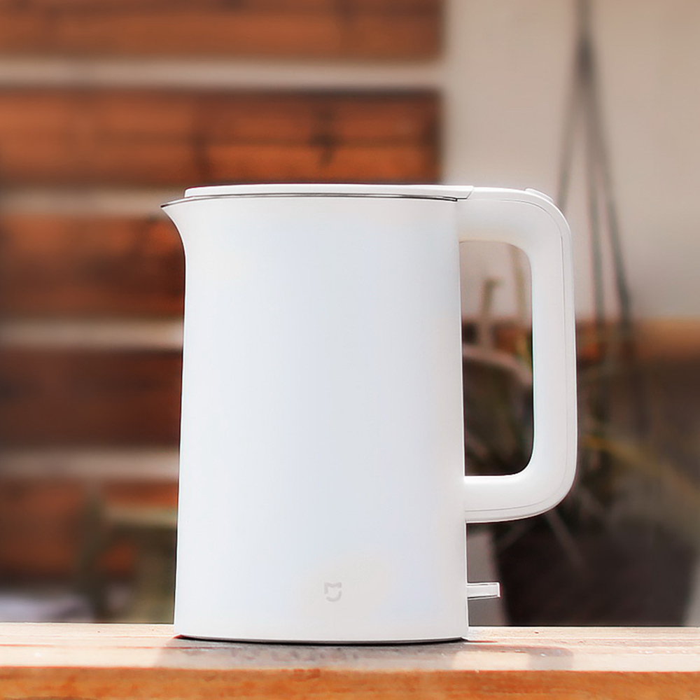 все цены на Original Xiaomi Mijia 1.5L Electric Water Kettle Auto Power-off Protection Wired Handheld Instant Heating Electric Kettle