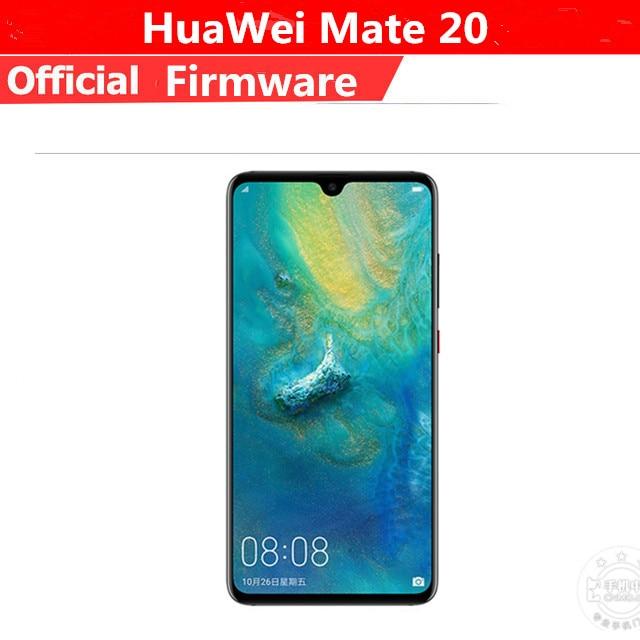 """Оригинальный HuaWei Коврики 20 4G LTE Мобильного Телефона Kirin 980 Android 9,0 6,53 """"2240×1080 6 ГБ Оперативная память 128 ГБ Встроенная память 24.0MP сканер отпечатков пальцев NFC Leica"""