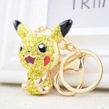 Pokemon Pikachu Figure Alloy keychain