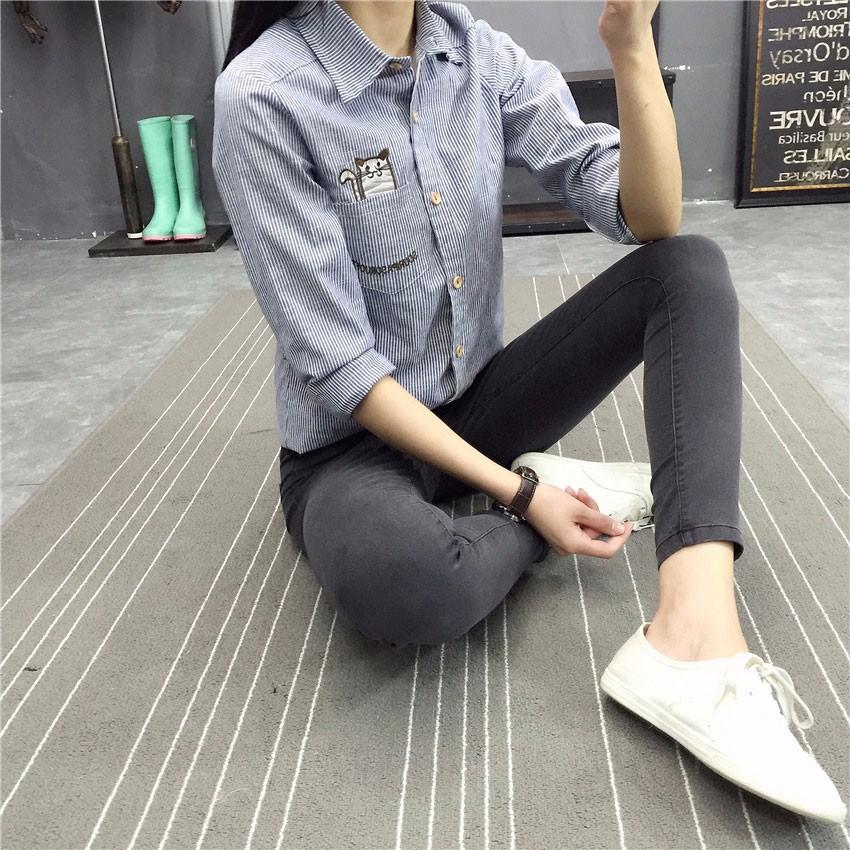 BIVIGAOS Basic Skinny Womens Jeans Ankle Pencil Pants Slim Elastic Denim Pants Jean Leggings Female Cotton Jeggings Jeans Women 27