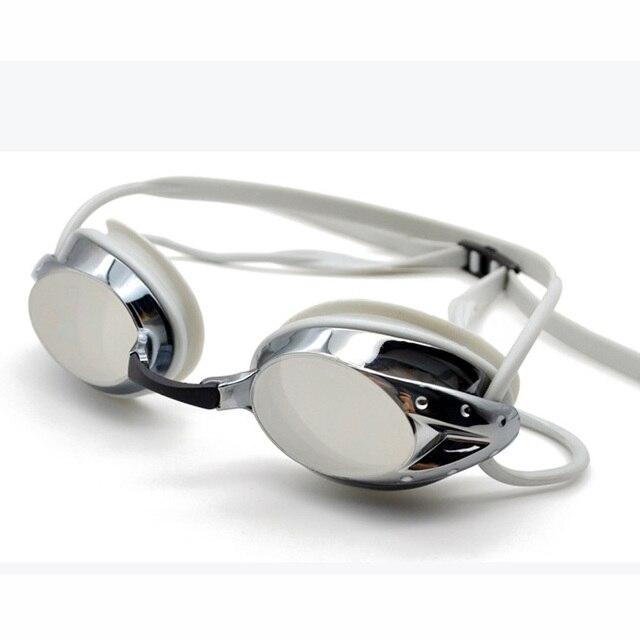 Lunettes de course professionnelles protection UV Anti-buée lunettes de natation pour athlètes unisexe lunettes de natation teintées lunettes de natation plaquées