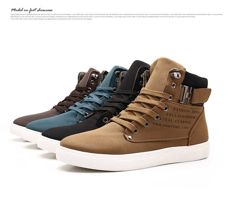 Hot Fashion Brand High Style Real Leather Casual Shoes,Outdoor Rubber Bottom Business Shoes ,New Trend Popular Student shoes