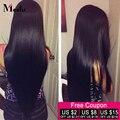 "Cheap 7A Brazilian Straight Hair 4 Bundles Natural Black Brazilian Straight Human Hair Weave Bundles 8""-28"" Silky Straight Hair"