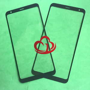 Image 1 - 10Pcs Vervanging LCD Front Touch Screen Glas Outer Lens Voor LG Q Stylo 4 Q Note + Q710 Q710MS q710CS