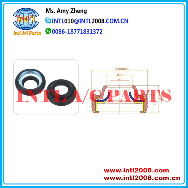 Auto AC Compressor pump seal oil shaft seal A C COMPRESSOR OIL LIP seal