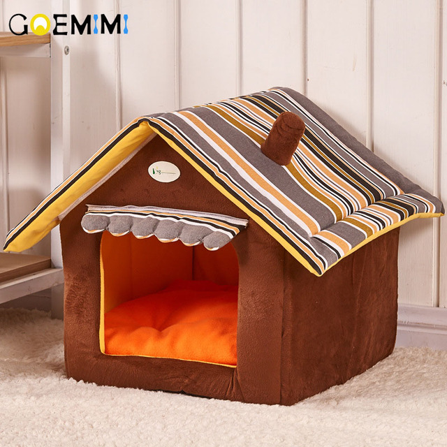 בית מחמם מתקפל  ומעוצב לחיית המחמד  1