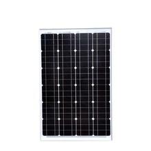 Solar Panel 12V 60W Monocrystalline Portable Battery Charger PV Solar Module Solar Painel Solar Marine Boat Yacht Camping