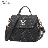 Aelicy сумка женская мода Геометрия небольшой V Стиль сумки известный бренд класса люкс Сумки женский Сумки дизайнер Повседневное Tote D40