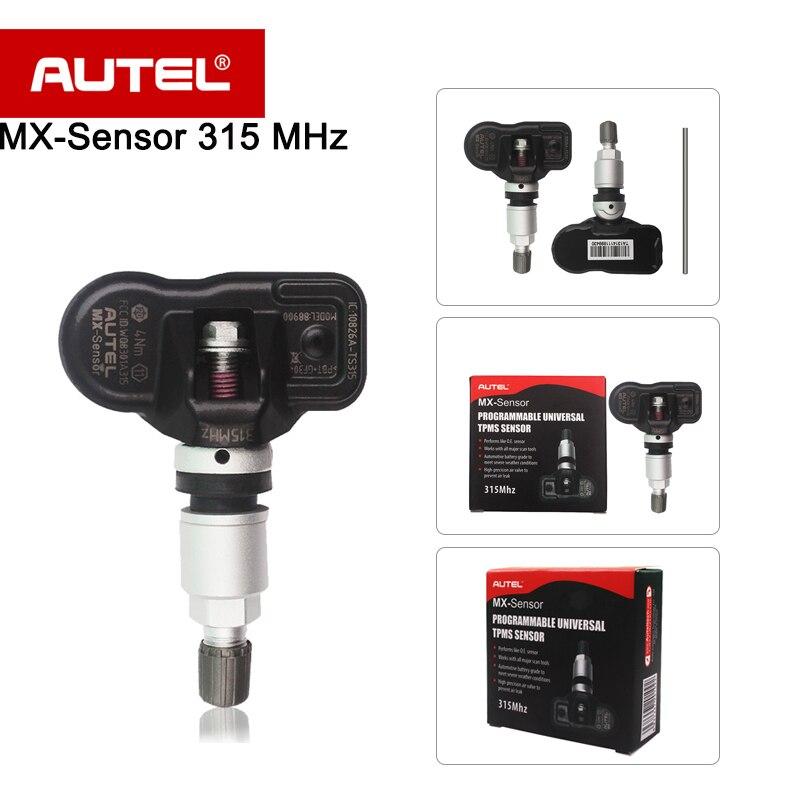 De Remplacement d'origine Autel MX-Capteur 315 MHZ TPMS Capteur Spécialement pour la Pression des Pneus Capteur MX Capteur 315 MHZ Livraison gratuite