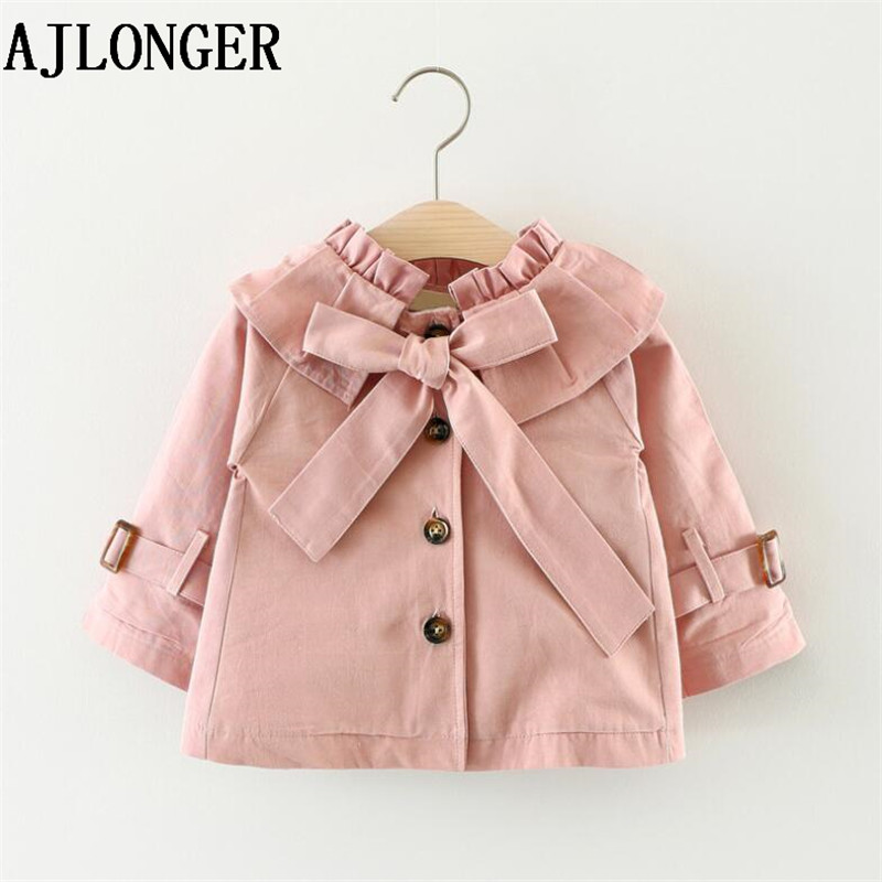 AJLONGER New Fashion Childrens Coat Autumn Kids Jacket Girls Baby