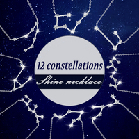 Authentic 100 Solid 925 Sterling Silver Shiny 12 Constellation Necklaces Unique Design Best Blessing Gift For