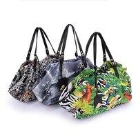 G 1590 женские сумки на ремне Мода Граффити водонепроницаемый нейлон женские сумки дамы плеча мешок руки