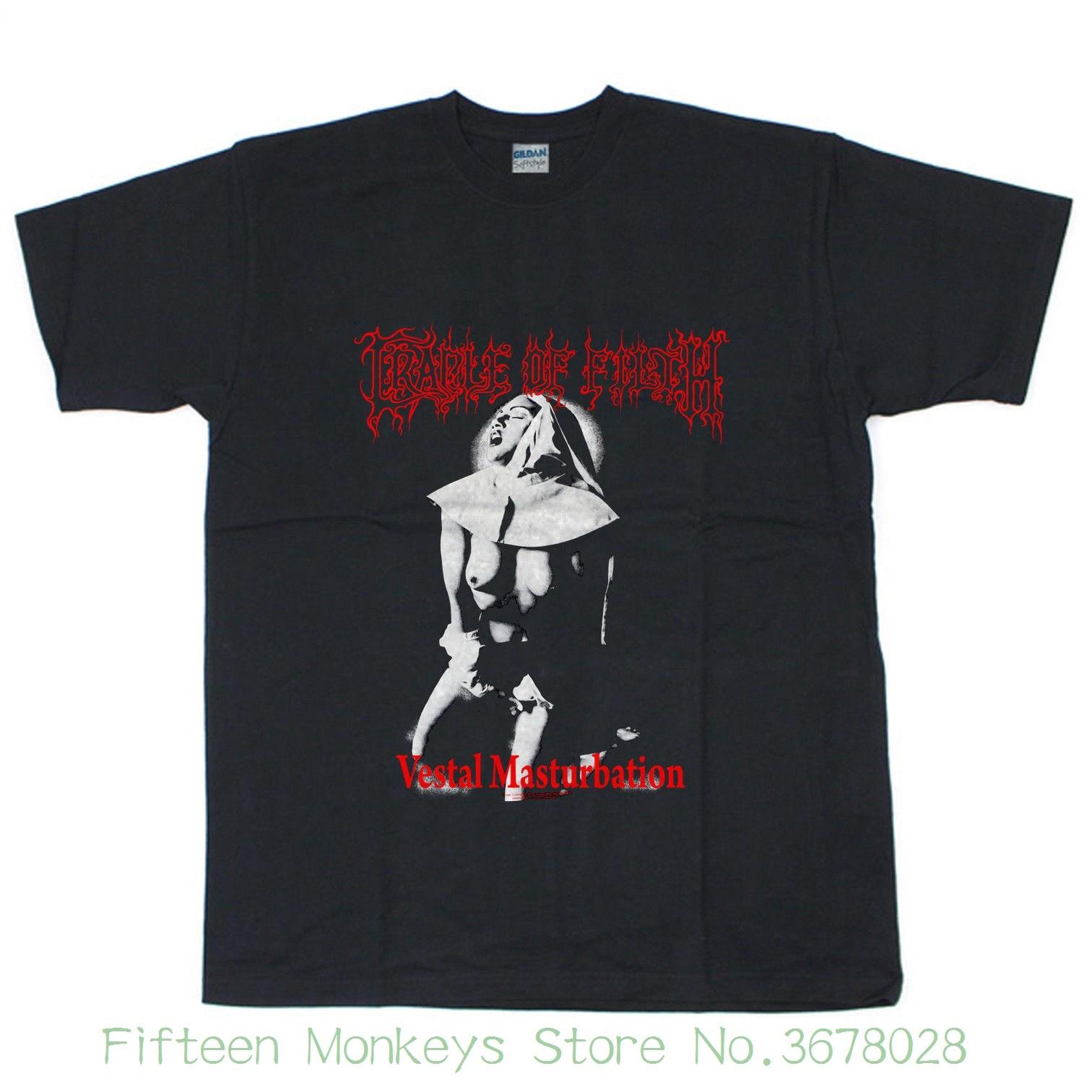 Frauen T Vintage 1990 S Cradle Of Filth Vestal T-shirt Nachdruck Größe S-2xl Europäischen Stil Hip Hop S-xl