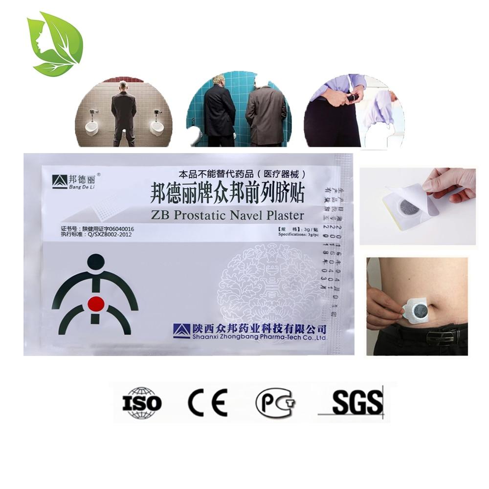 100Pcs Urologiche Patch Prostatite Trattamento ZB Prostatica Navel Gesso Cinese a base di erbe patch di Urologia della prostata prostatite-in Massaggi e relax da Bellezza e salute su  Gruppo 1
