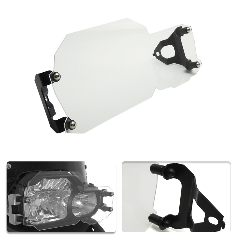 For BMW Headlight Cover Guard Protector For BMW F800GS F700GS F650GS Twin Headlight Guard Clear 2008-2016 areyourshop sale rear abs sensor protective guard cover fit for bmw f800gs adv f700gs f650gs twin