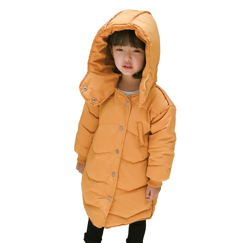 Outerwear & Coats Honesty Winter Down Parka Coat For Girls New Brand Solid Hooded Unisex Kids Jackets Kids Duck Down Warm Casacos Outwears Ca443 As Effectively As A Fairy Does