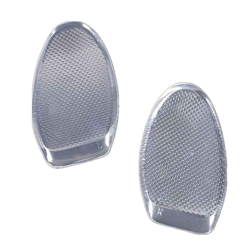 EFBABA Silicone Gel Insole Forefoot Pad Regulating Anti Foot Ultra Thick Soft Shoes Insoles Women High Heel Pad Shoe Accessoire
