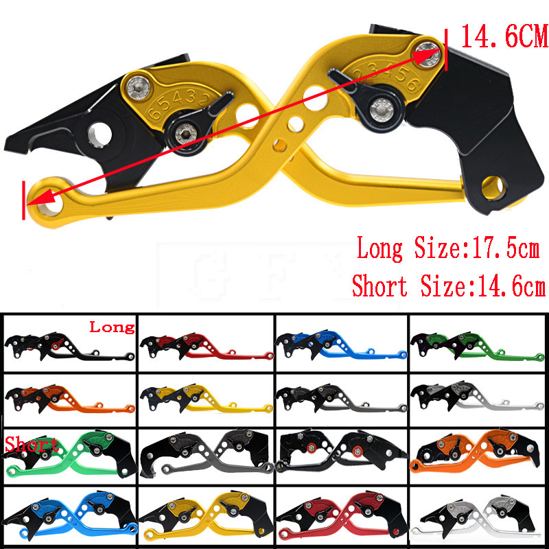 Short&Long For BMW R1200GS ADV R 1200 GS ADVENTURE 2006 2007 2008 2009 2010 2013 Motorcycle CNC Adjustable Brake Clutch Levers