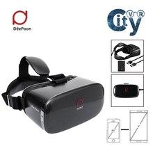 DeePoon E2ความจริงเสมือนแว่นตา3D VRทั้งหมดในหนึ่งAMOLEDหน้าจอ2กรัม/8กิกะไบต์75เฮิร์ตAPIเกมHDMI Otca-Core WiFi V4.0 vrกล่อง