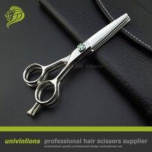 "5.5"" VG10 multi blade scissors barber double thinning shear professional japan hair scissors hairdressing scissors hairdresser"