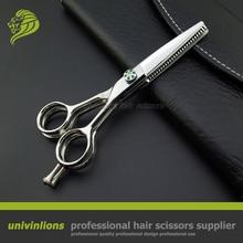 "5.5 ""VG10 çok bıçak makas berber çift İnceltme makası profesyonel japonya saç makas kuaförlük makas kuaför"