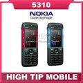 Первоначально открынный Nokia 5310 мобильный телефон 5310 XpressMusic мобильный телефон с Bluetooth 2-мегапиксельная камера бесплатная доставка восстановленное