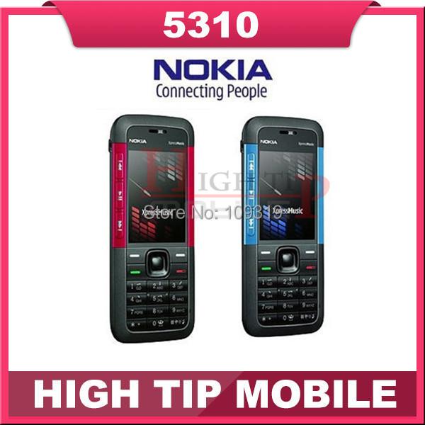 Abierto Original Nokia marca 5310 teléfono móvil 5310 XpressMusic celular con Bluetooth 2MP envío gratis reacondicionado