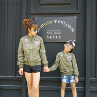 Boys Autumn Jackets Mother Son Outfits Mom and Daughter Clothes Girls Jacket Children Tiger Family Couples Matching Clothes Coat