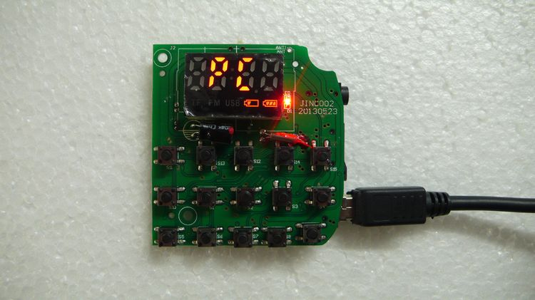 MP3 decoder board (with a sound card) USB sound card (with power amplifier) FM radio biomonitoring with clarias gariepinus