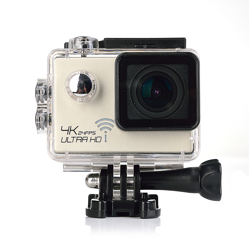 4K/30fps Action Camera Wifi 1080p UHD 2.0 LCD Screen 30m Waterproof Diving 170 Degree Sport Action Camera DV Camera 2017 arrival original eken action camera h9 h9r 4k sport camera with remote hd wifi 1080p 30fps go waterproof pro actoin cam