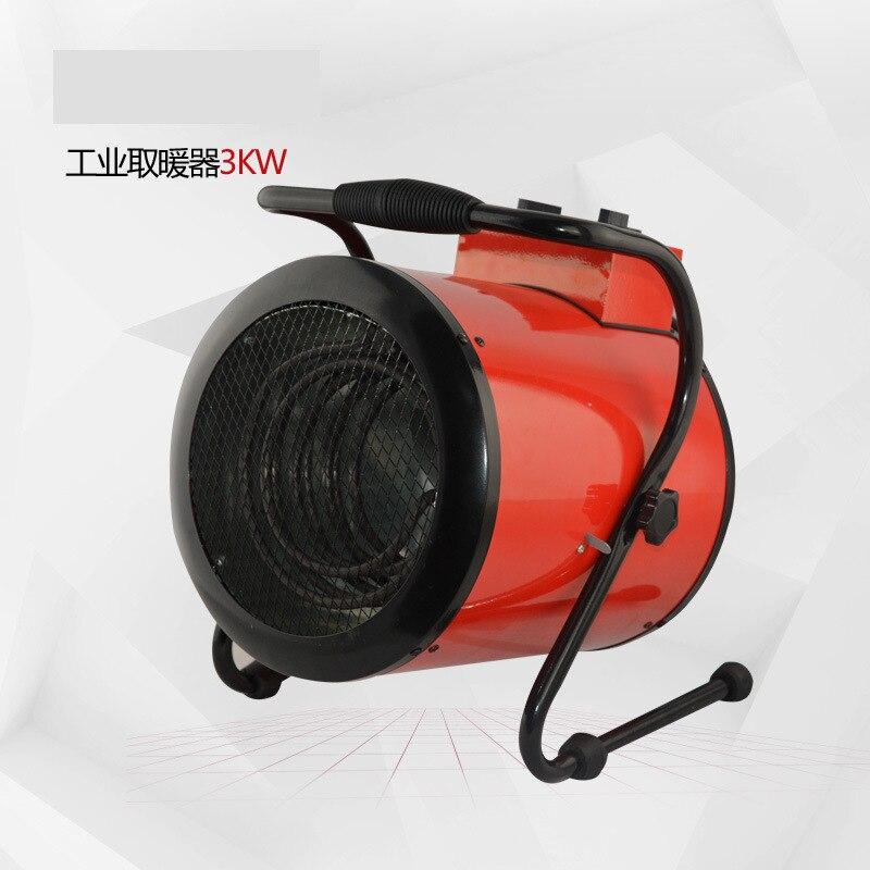 3000 W Commerciële Heater Verstelbare Thermostaat Elektrische Kachel Ontvochtiger Drogen Tool Mini Industriële Verwarming Warming Machine