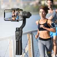 Outdoor Holder 3-Axis Flexible H4 Handheld Gimbal Stabilizer for iPhone 11 9 8 Huawei Samsung Smart Phone PTZ Action Camera