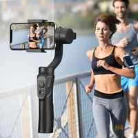 Outdoor Supporto 3-Assi Flessibile H4 Handheld Gimbal Stabilizzatore per il iPhone 11 9 8 Huawei Samsung Smart Phone PTZ macchina Fotografica di azione
