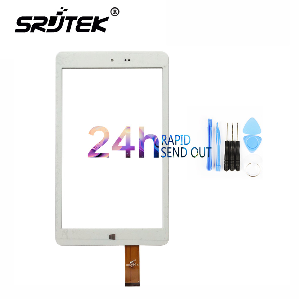 Srjtek New Touch Screen Digitizer For Chuwi Hi8 Intel Z3736F Quad Core PC Tablets 8inch Touch panel sensor replacement new 8 inch tablet pc case for chuwi hi8 touch panel screen replacement for chuwi hi8 handwritten screen free shipping