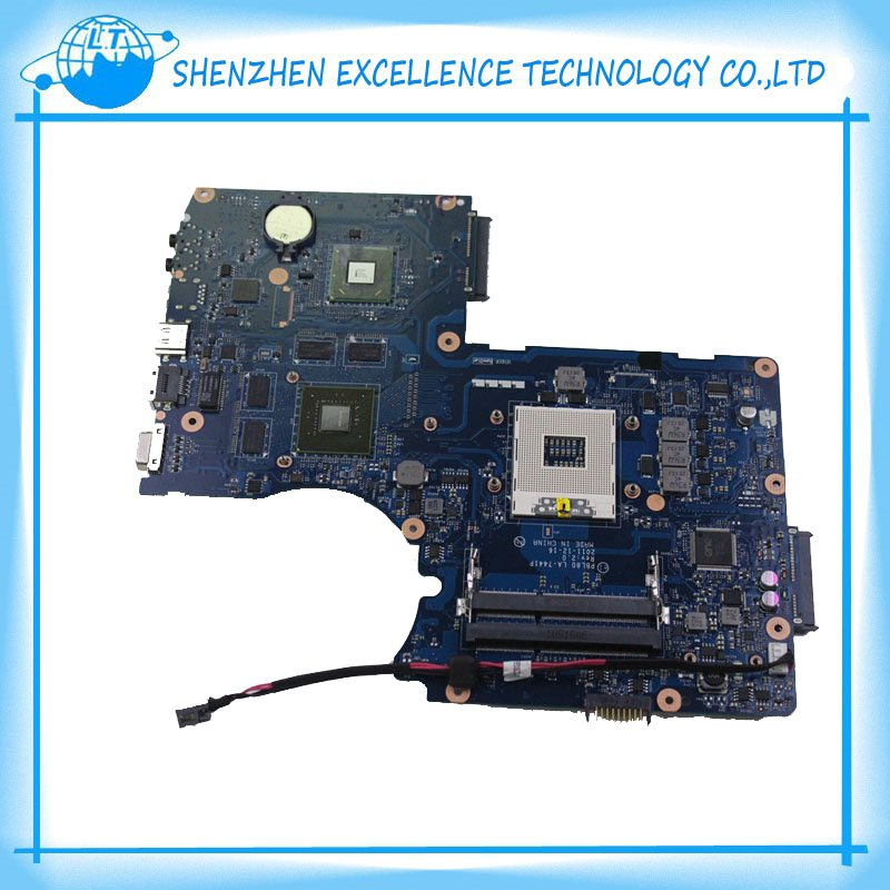 ФОТО hot sale motherboard for Asus X93S K93SV P8L80LA-7441P REV 2.0 4 RAM Slots laptop mainboard free shipping