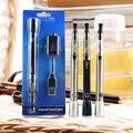 2 в 1 UGO-V VAPE Фонарик электронная сигарета Блистер Комплекты испаритель ручка эго EVOD UGO-V 650 мАч батарея с CE4 распылителя