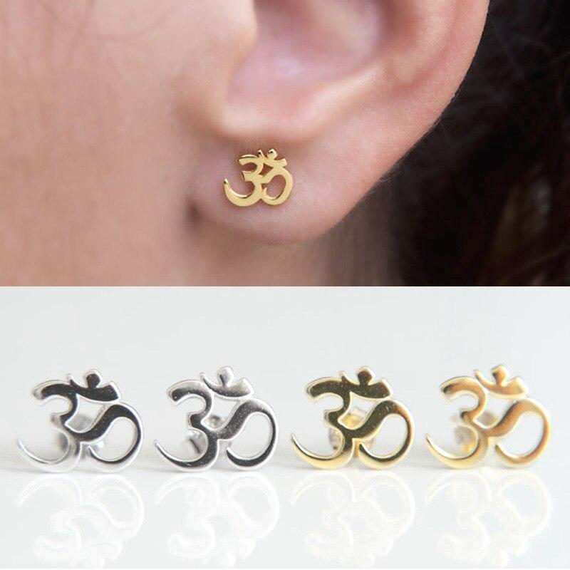 Delicate Silver Stud Earrings