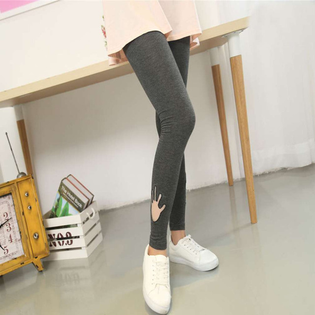 New Casual Maternity Lovely Vola Pattern Embroidery Pants For Pregnant Women Maternity Clothes Autumn Overalls Pregnancy Pants