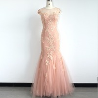 Formal Evening Dresses Ever Pretty 2017 Elegant Pink Embroidery Bust Maxi Woman Evening Dresses DT17038