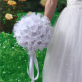 Maphia Wedding Bouquet 2017 Sparkle Crystal Beaded Flowers Bridesmaid Bride Brooch  New Buque De Noiva Bridal Bouquets