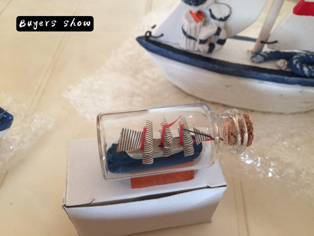 Տուն Դեկոր Միջերկրածովյան ոճով Mini Ship - Տնային դեկոր - Լուսանկար 6