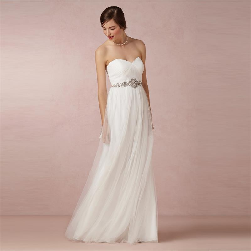 Popular Long White Bridesmaid Dresses-Buy Cheap Long White ...