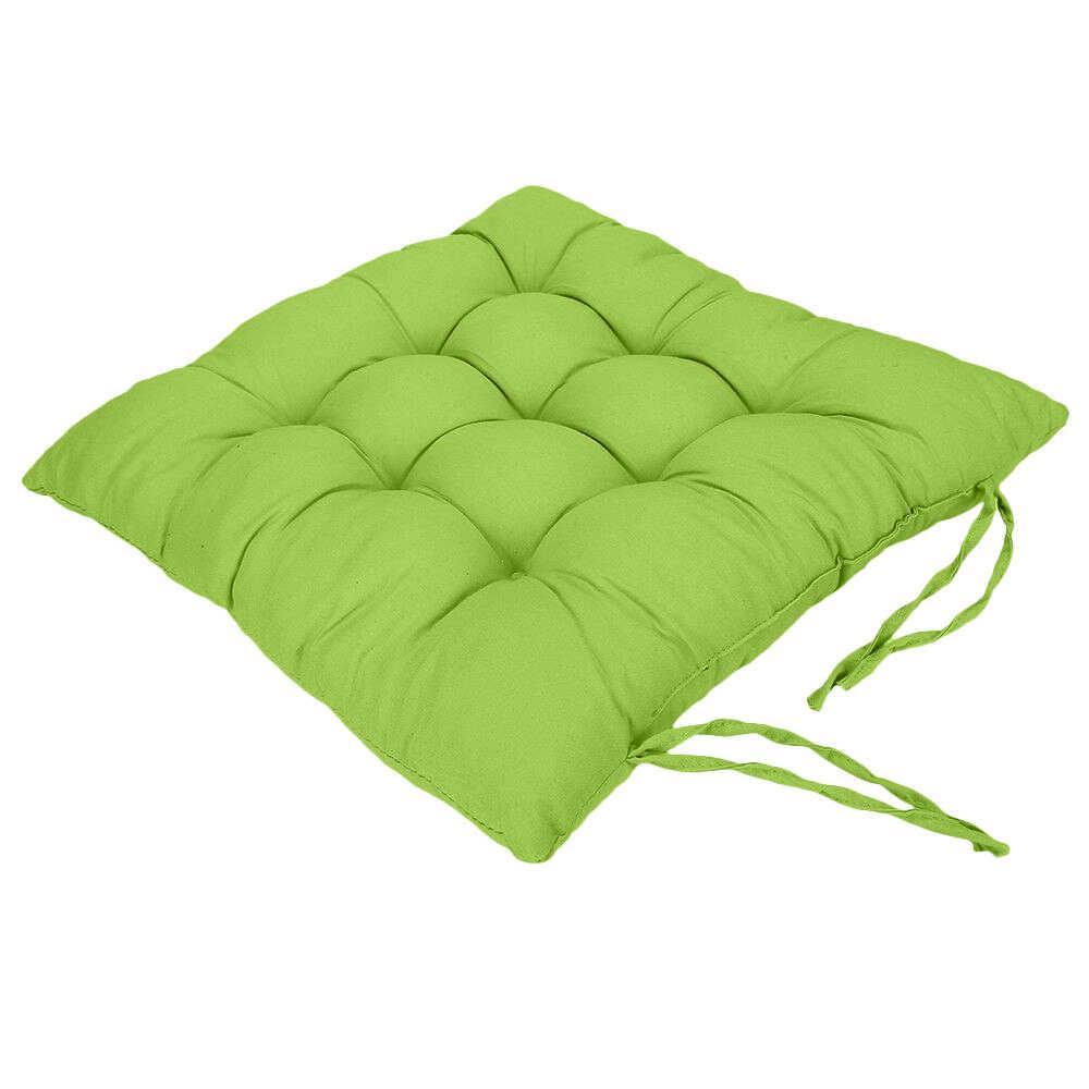 Urijk 1/2/4 Pcs Rumah Bantal Kursi Pad Musim Dingin Kantor Kursi Bar Kursi Belakang Bantal Sofa Bantal pantat Kursi Cushion 37X37 Cm