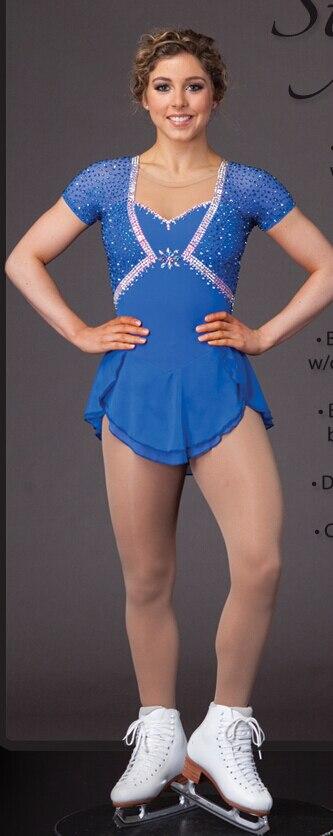 soutěž bruslení šaty ženy vlastní krasobruslení šaty pro - Sportovní oblečení a doplňky
