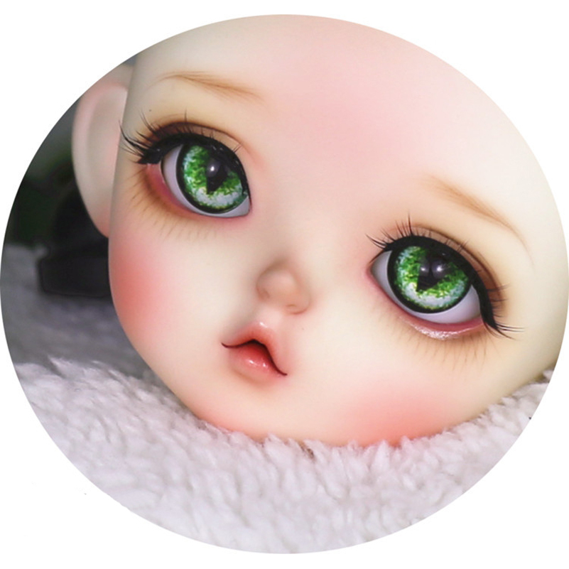 1/3 1/4 1/6 Cat BJD Doll Eyes Gradient Cat Eyes Beast Pupil Black Pupil 12mm 14mm 16mm 18mm Eyeball Baby Born Dolls Accessories chatterbox pupil s book 2